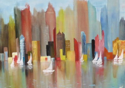 Skyline new york - Sylvie Vartician